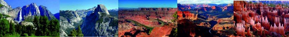 Národní parky západu