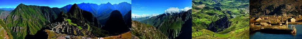 Macchu Picchu, Colca, Titicaca