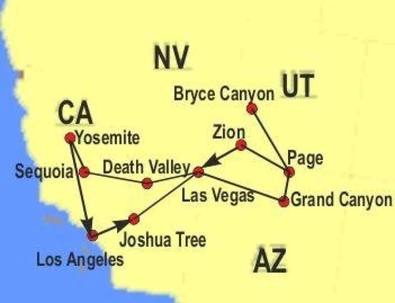 Usa Narodni Parky A Mesta Zapadu Usa 24 9 2020 Poznavaci
