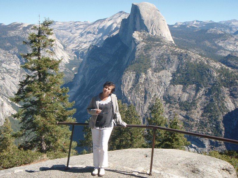 Yosemite Half Dome - průvodkyně Ing. Simona Čížková